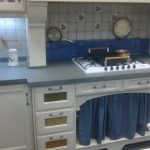 cocina blanca rùstica