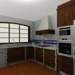 cocina color rùstica